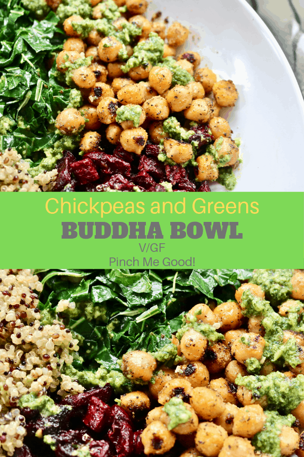 Chickpeas and Greens Buddha Bowl - V\GF