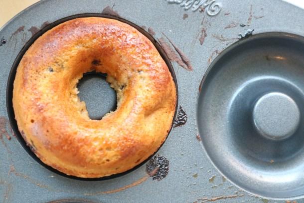 Donut in pan