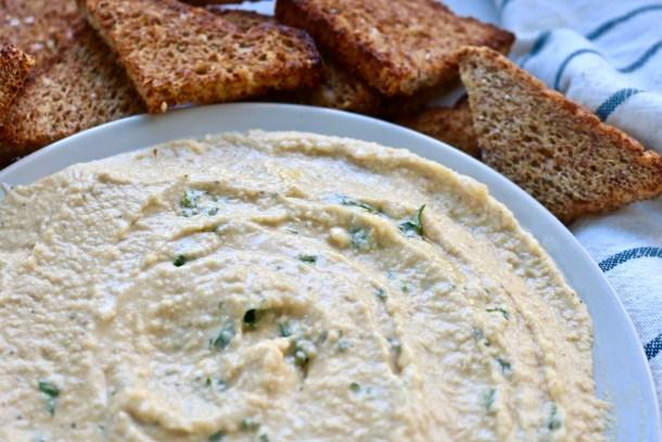 Classic Homemade Hummus