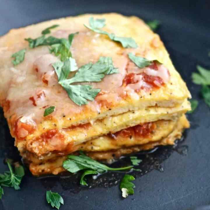 Low-Carb Egg Lasagna
