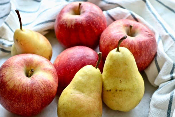 Apples an pears