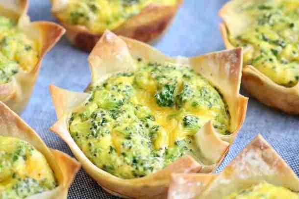 Little egg veggie cups