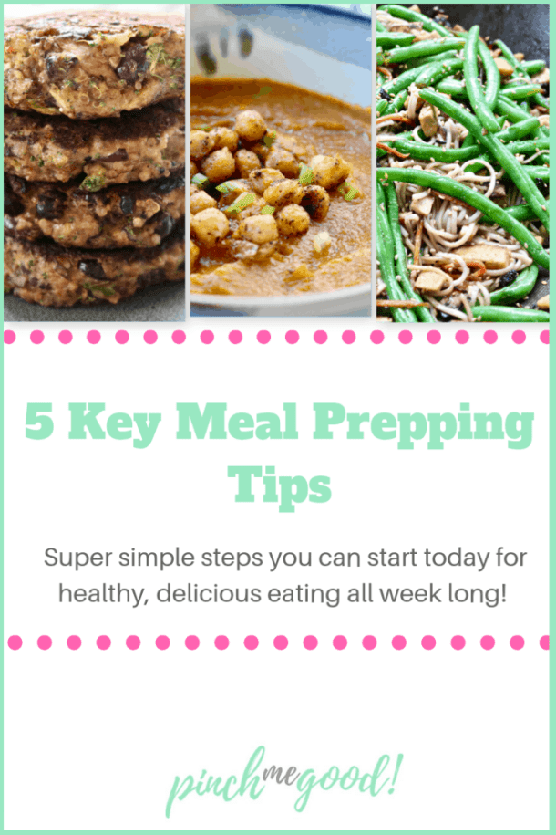5 Key Meal Prep Tips from Pinch Me Good