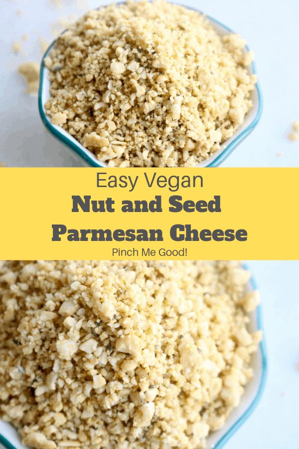Vegan and Gluten-free Parmesan Cheese