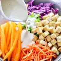 Asian Tofu Crunch Salad