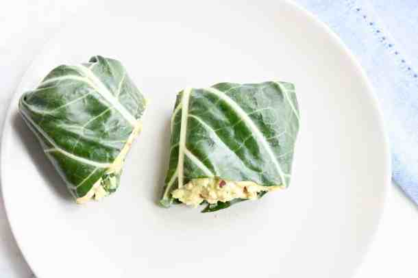 Healthy egg wraps