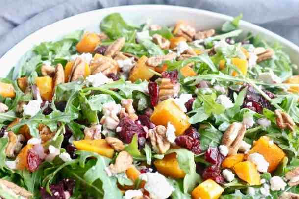 beets and squash salad