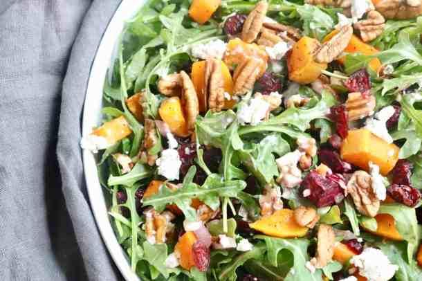 Squash and Beet Salad