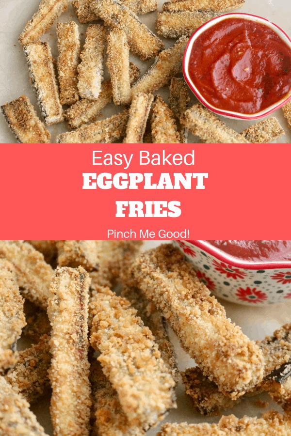 Easy Baked Eggplant Fries