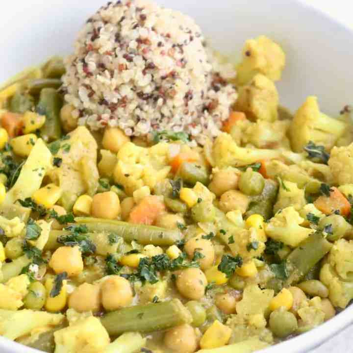 Vegan Coconut Vegetable Curry
