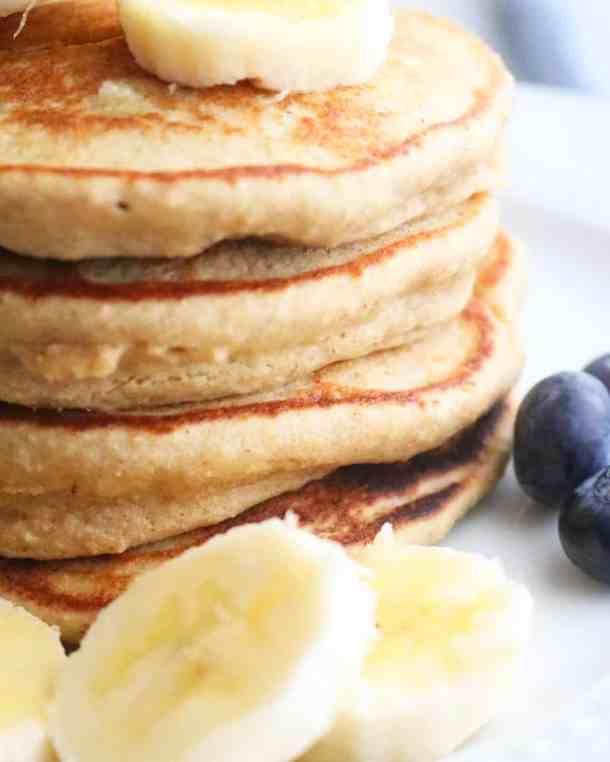 Close up of Skinny Pancakes