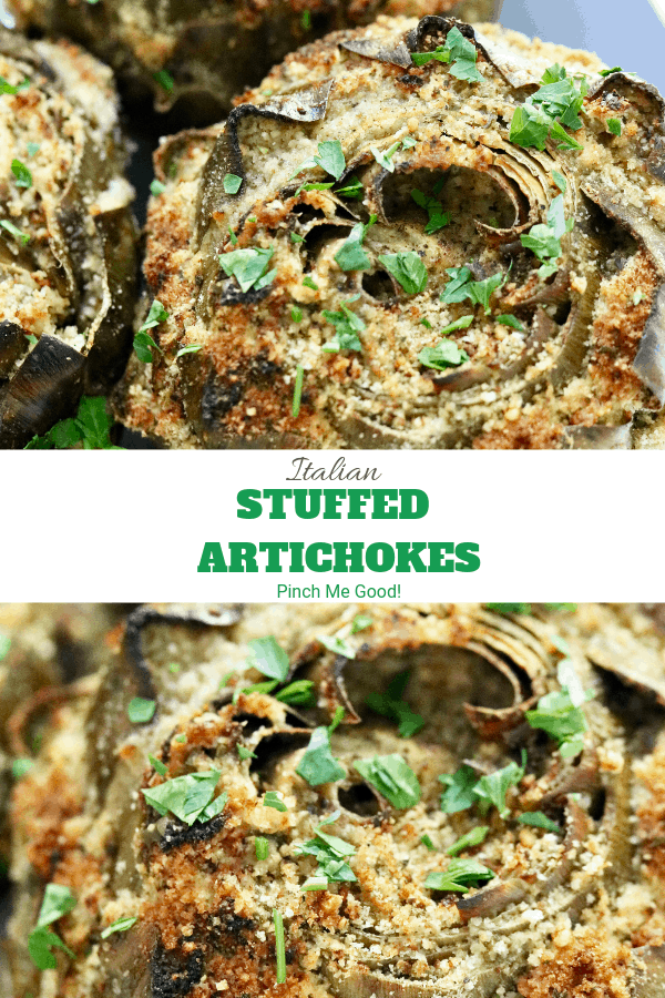 Italian Stuffed Artichokes - Easy recipe
