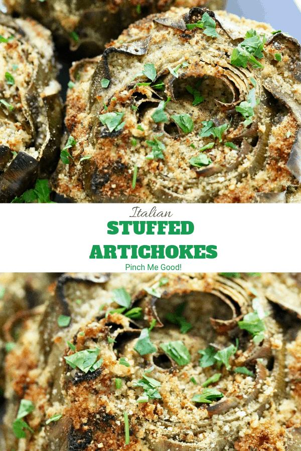 Italian Stuffed Artichokes - Easy recipe