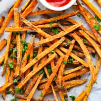 Crispy Paleo Sweet Potato Fries