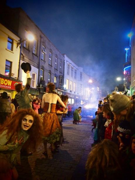 Macnas Theatre Parade, Galway,Ireland.By Marianina