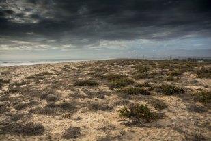 Dark dunes, Portugal