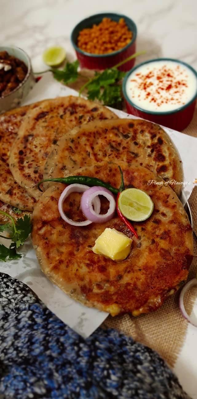 Aloo cheese paratha