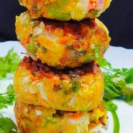 Veggie Cheese Cake – Mix Vegetable Recipe