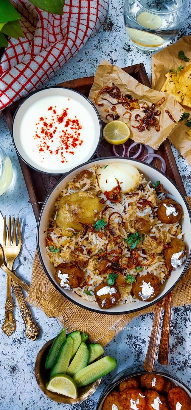 Shahi Moti Chicken Biryani