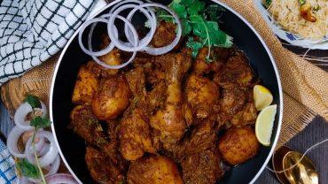 Bengali Bhuna Chicken Masala | Healthy Chicken Recipes