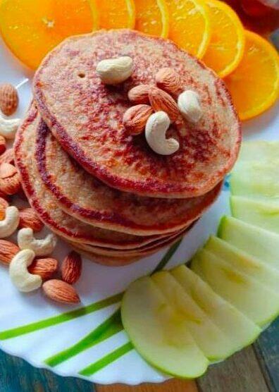 Oats Banana Pancakes | Home Made Pancakes | Oats For Breakfast