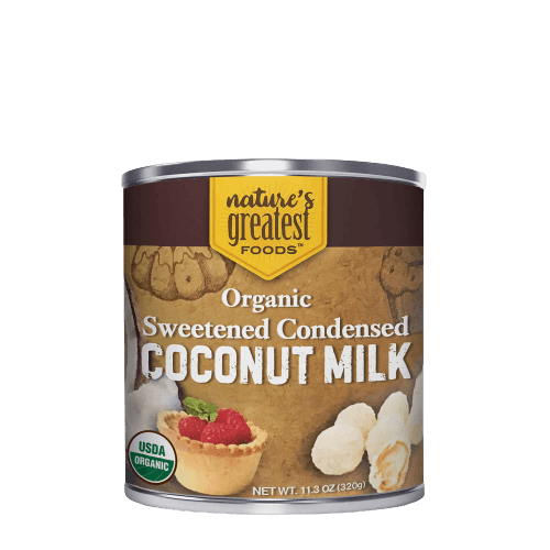 Organic Sweetened Condensed Coconut Milk