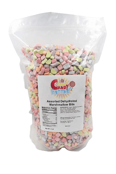 Sarah's Candy Factory Assorted Dehydrated Marshmallow