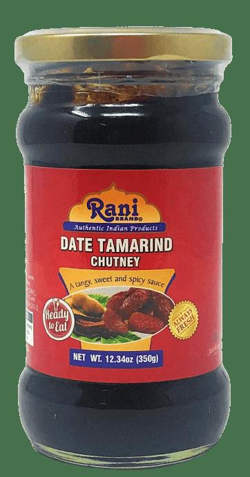 Rani Dates & Tamarind (Imli) Chutney Glass Jar