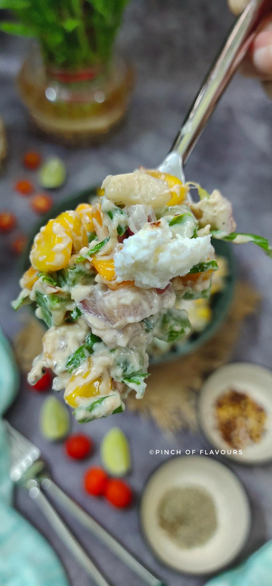 Mexican corn salad - Roasted corn salad mexican