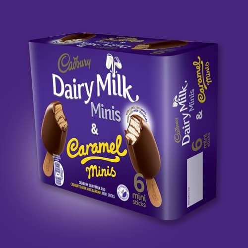Shopping Essentials Top Pick – Cadbury Dairy Milk and Caramel Ice Cream Minis | Slimming World