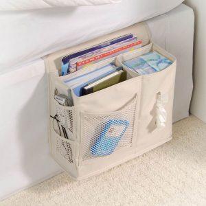 RV Storage Hacks - bedside caddy