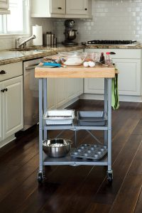 RV Storage Hacks - Folding Kitchen Island