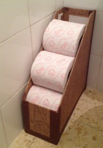 RV Storage Hacks - Extra-Toilet-Paper-in-the-Magazine-Holder