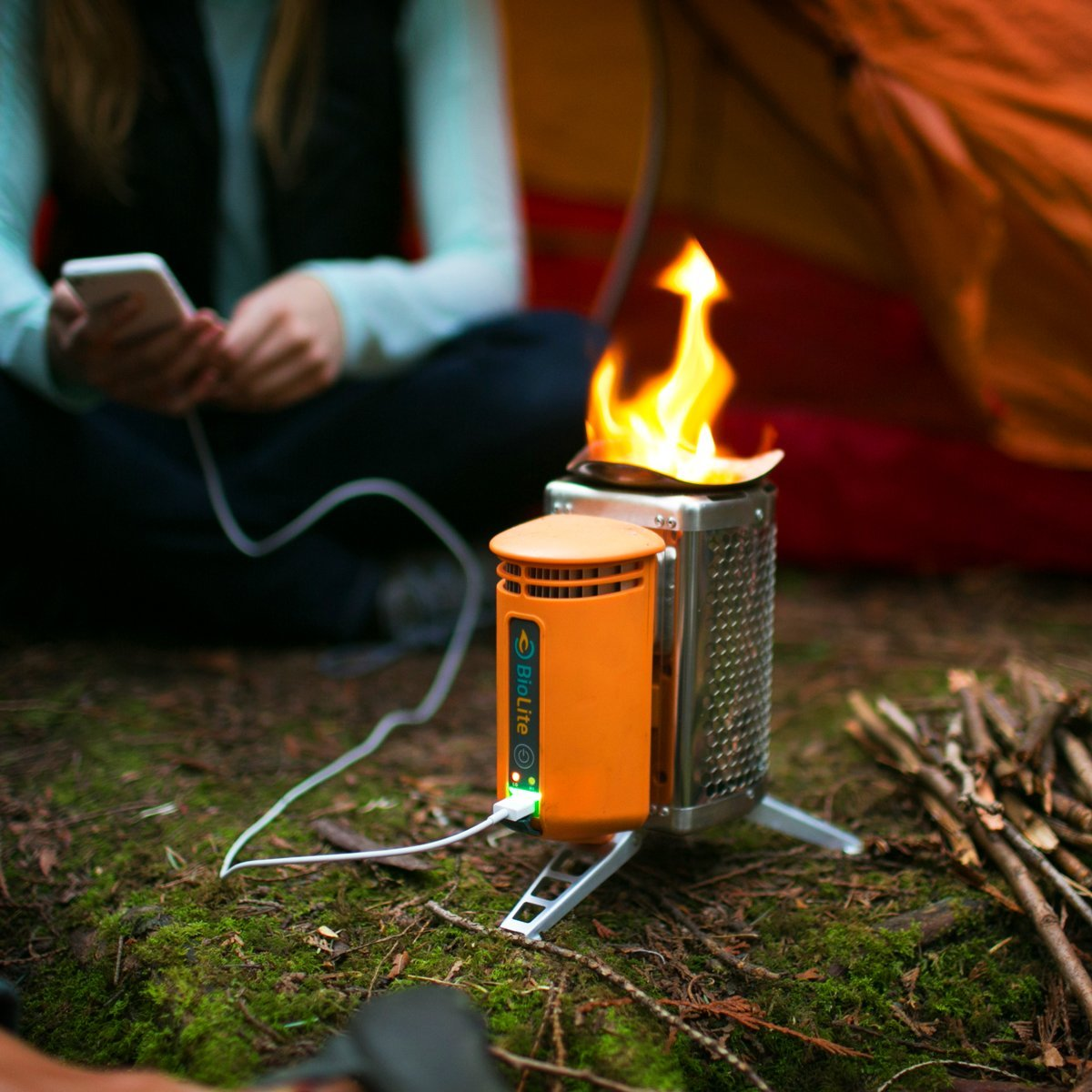 biolite stove and charger