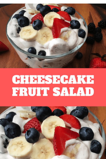 cheesecake fruit salad