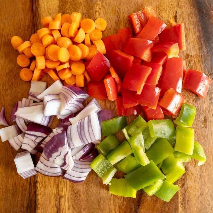 Hawaiian Vegetables