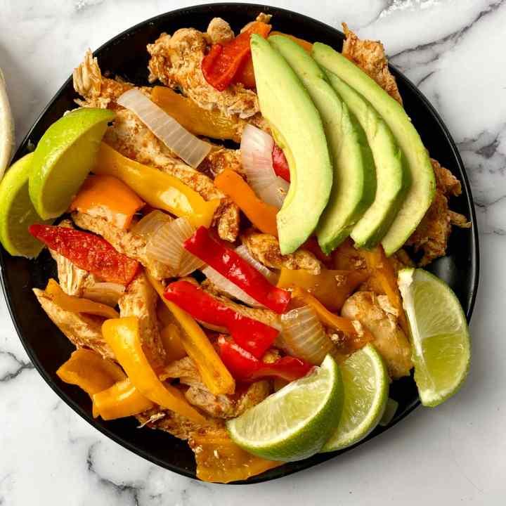 easy instant Pot Chicken Fajitas