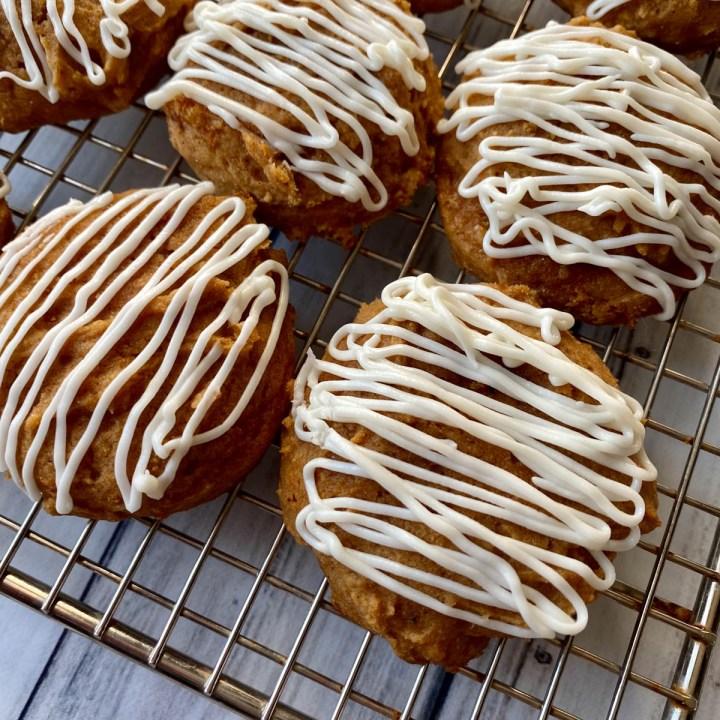 The Best Gluten Free Pumpkin Cookies