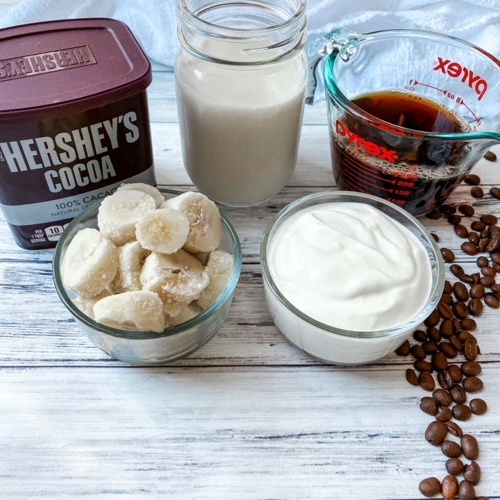 Coffee Protein Shake ingredients