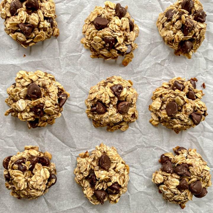3 Ingredient Oatmeal Cookies