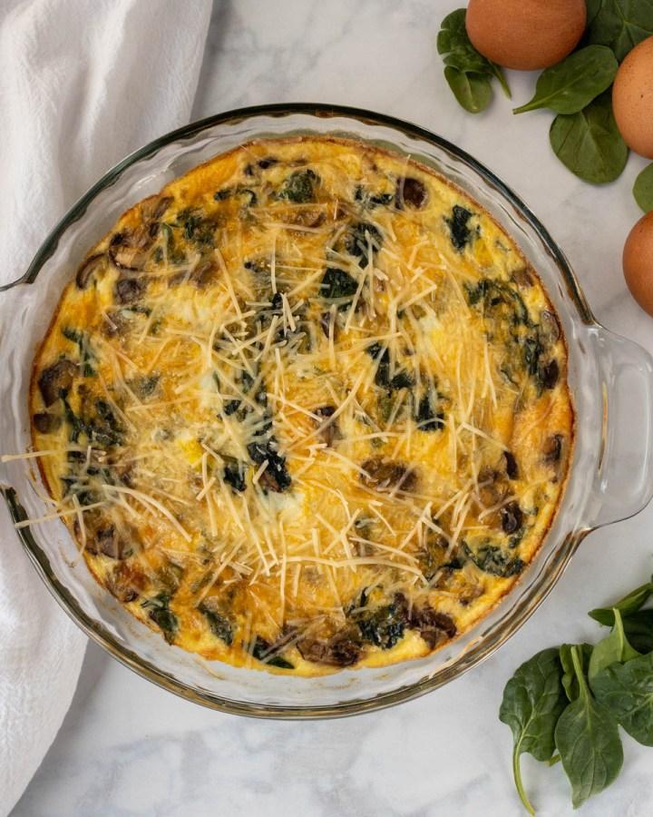 healthy gluten free quiche