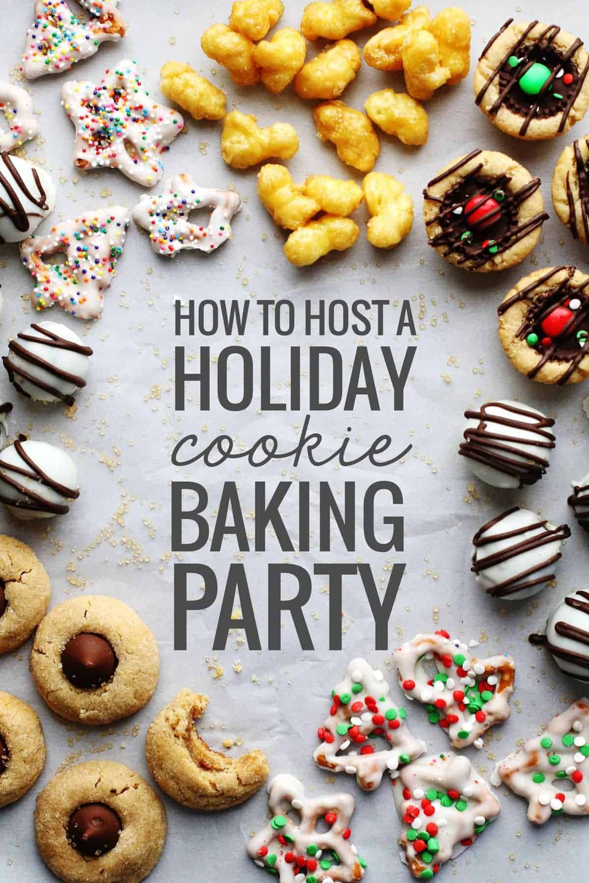 How To Host A Holiday Cookie Baking Party Recipe