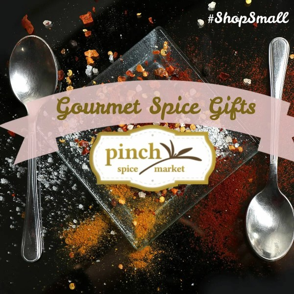 buy spices online text with spoons of spices