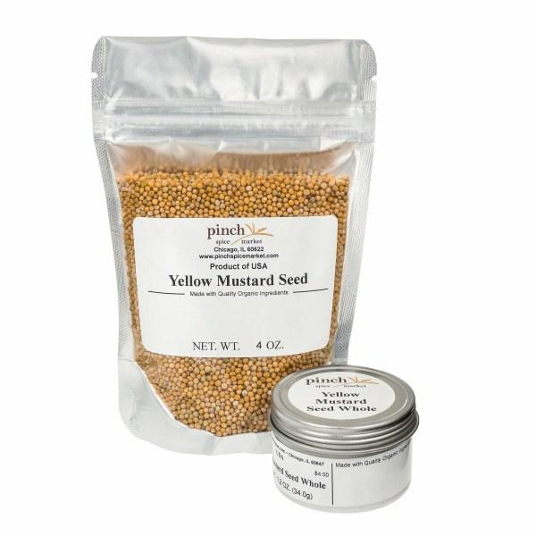 organic yellow mustard seed bag