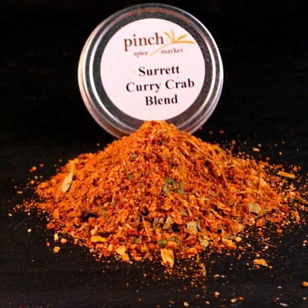 authentic surret curry crab spice organic