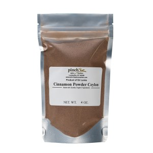 certified organic real Ceylon cinnamon from Sri Lanka