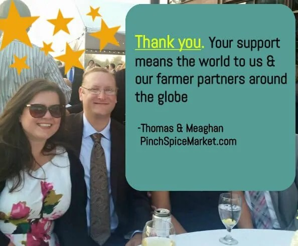 meaghan thomas and thomas mcgee pinch spice market