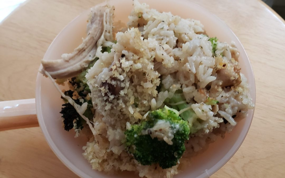 Mrs Pinch & Buffy's Pressure Cooker Chicken Broccoli Casserole