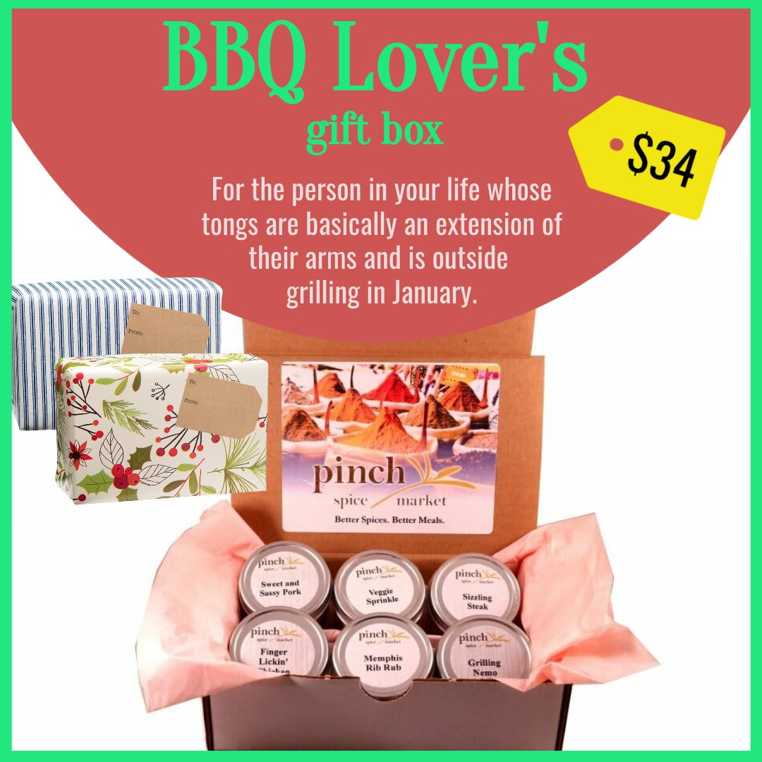 gift basket box for bbq meat lovers