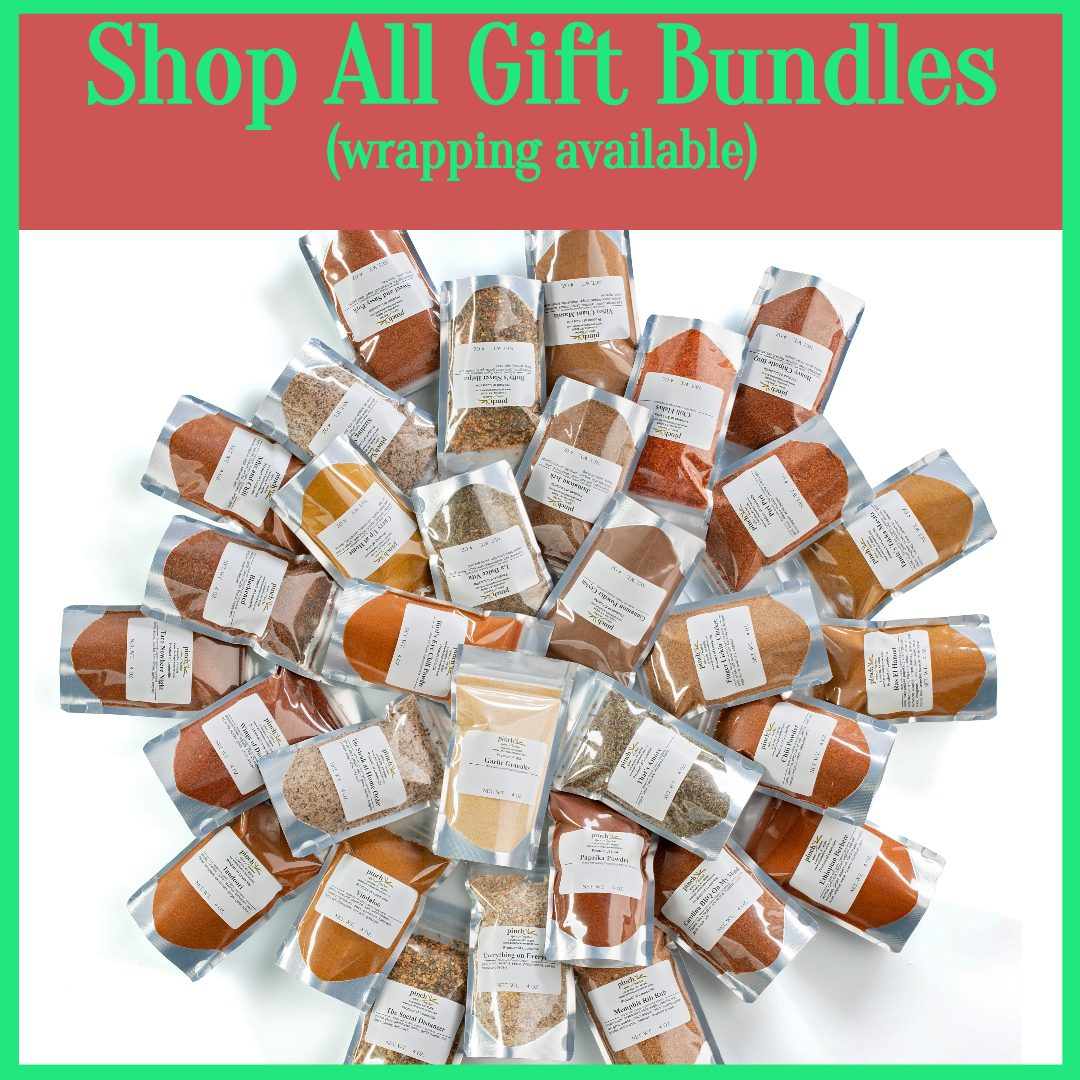 organic seasonings gift wrapped for people who love to cook
